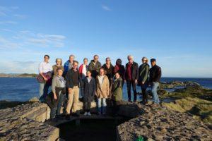 Gruppebilde tatt på tur til Einarsneset.